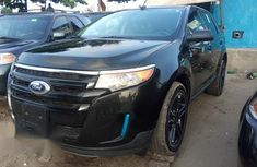 Very Clean Ford Edge 2013 Black for sale