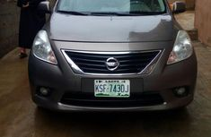 Nissan Almera 2014 Brown for sale