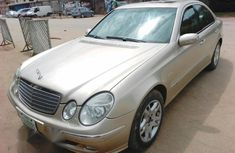 Mercedes-Benz E230 2006 Gold for sale