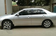 Neatly Used Honda Accord 2007 Silver for sale