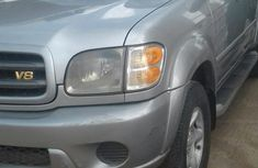 Registered Toyota Sequioa 2004 Silver for sale