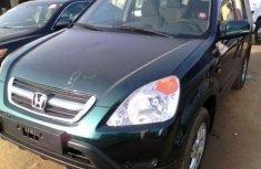 Green Honda CR-V 2002 model FOR SALE
