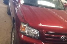 Almost brand new Toyota Highlander Petrol 2007