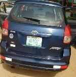2004 Toyota Matrix Automatic Petrol well maintained