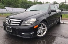 Benz C300 4matic 2012 Black for sale