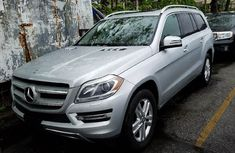 Mercedes-benz GL450 2015 Silver for sale