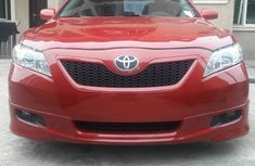Foreign used Toyota Camry 2008 red for sale