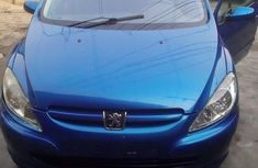 Tokunbo Peugeot 307 2002 blue for sale