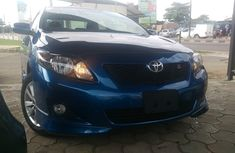 Buy and drive tokunbo Toyota Corolla sport 2009 for sale