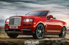 The Rolls-Royce Cullinan in Pickup, Coupé, Cabriolet versions
