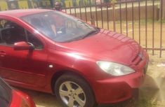 Clean Peugeot 307 2003 Red FOR SALE