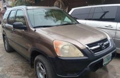 Clean Used Honda CR-V 2001 Brown for sale