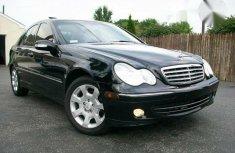 Clean Mercedes-Benz C240 2005 Black for sale