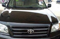 Tokunbo Toyota Highlander 2005 Black for sale