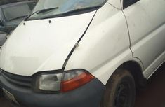 Superb Toyota Hiace 1999 White for sale