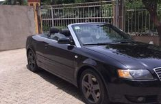 Clean Audi A4 Quattro 2004 Black For Sale