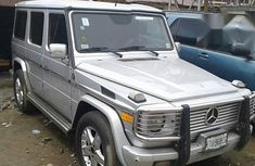 Mercedes Benz G500 2006 Silver for sale