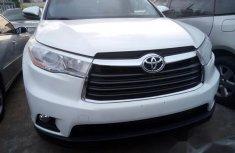Toyota Highlander 2016 White for sale