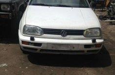Tokunbo Volkswagen Golf 3 Wagon 1999 White For Sale