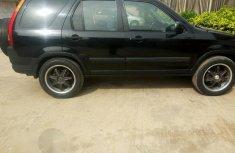 Tokunbo Honda CR-V 2004 Black for sale