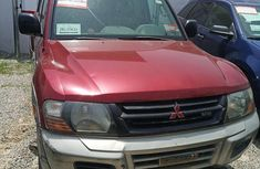Mitsubishi Montero 2000 Red for sale