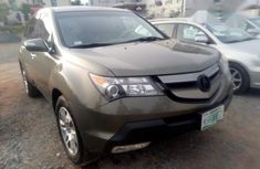 Neat Nigerian Used Acura MDX 2008 Brown For Sale