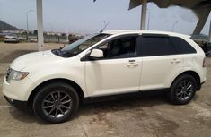 Ford Edge 2008 White for sale