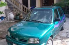 Nissan Micra 2002 Green For Sale