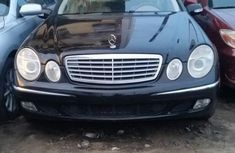 Tokunbo Mercedes-Benz E320 2003 Black for sale