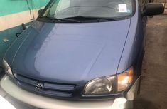 Tokunbo Toyota Sienna Xle 2002 for sale