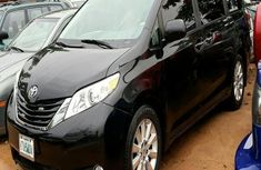 Nigerian Used Toyota Sienna XLE 2011 Black for sale