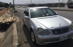 Mercedes Benz C320 2002 Silver for sale