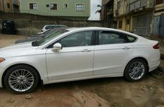 Ford Fusion 2014 White for sale