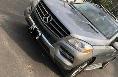 Mercedes Benz Ml350 2012 Silver for sale