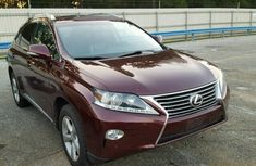 DIRECT TOKUNBO LEXUS RX350 2009 RED FOR SALE