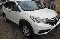 Honda CRV 2015 White for sale