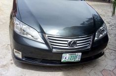 Clean Lexus ES 350 2010 Black For Sale