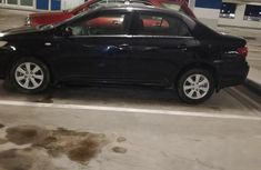 Clean Toyota Corolla 2009 Black FOR SALE