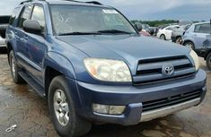 Toyota 4Runner jeep 2004 FOR SALE