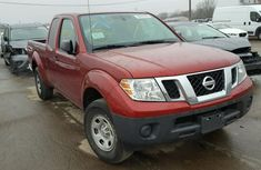 CLEAN 2003 NISSAN FRONTIER RED FOR SALE.