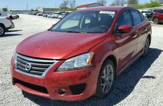 CLEAN 2005 NISSAN SENTRA RED FOR SALE.
