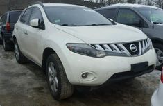 CLEAN 2005 NISSAN MURANO WHITE FOR SALE.