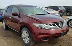 CLEAN 2005 NISSAN MURANO RED FOR SALE.