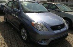 2007 Toyota Matrix Blue for sale