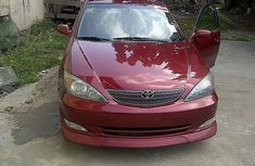 Clean Tokunbo Toyota Camry 2003 Red for sale
