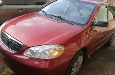 Clean Smooth Toyota Corolla 2006 Red FOR SALE