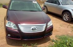 Toyota Avalon 2009 Red For Sale
