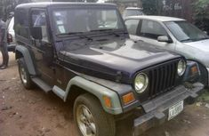 Almost brand new Jeep Wrangler Petrol 2002