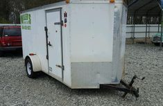 Clean Utility Trailer 2013 White for sale