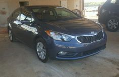 Clean Kia Forte 2015 blue for sale